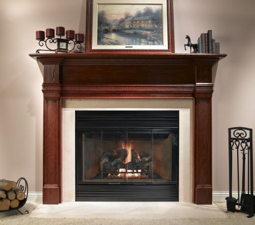 Fireplaces Dm1742 Black Bifold Glass Doors