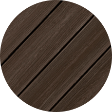 Composite Decking : EA 12' SKIRT RUSTIC WALNUT ENVISIONS